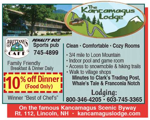 Kancamagus Motor Lodge Sports Pub & Brittany's Cafe
