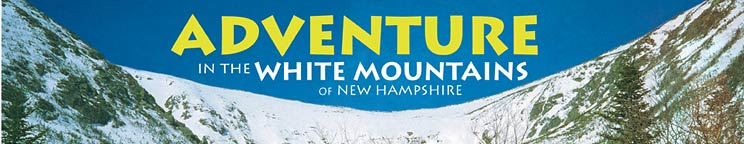 Banner to the Adventure in the White Mountains map and guide website