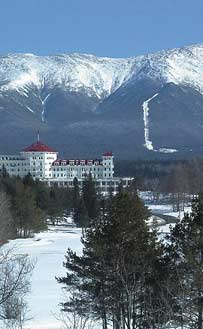 The Mount Washington Hotel provides access to the Mount Washington Valleys year-round attractions.
